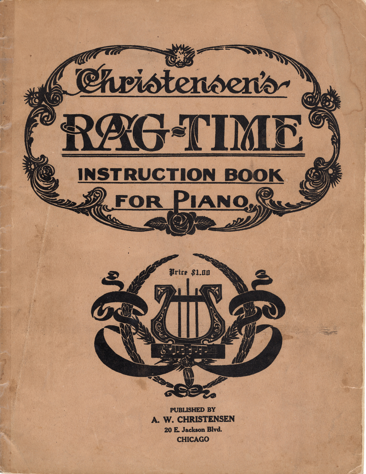 Christensen's Rag-Time Instruction Book for Piano