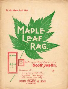 Maple Leaf Rag 1902 (est.) Cover