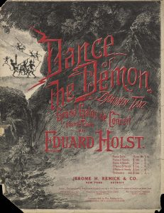 Dance of the Demon, 1906, Courtesy the Charles Templeton Sheet Music Collection