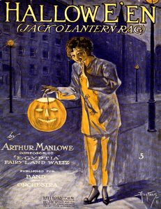 Hallowe'en, 1911, Courtesy the Charles Templeton Sheet Music Collection