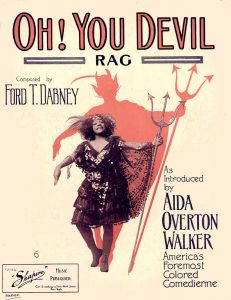 Oh! You Devil, 1909, Courtesy the Charles Templeton Sheet Music Collection