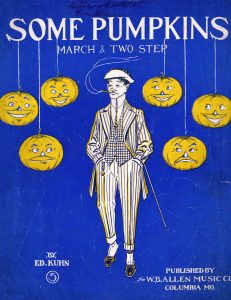 Some Pumpkins, 1908, Courtesy the Charles Templeton Sheet Music Collection