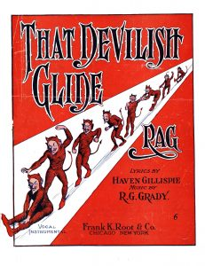 That Devilish Glide Rag, 1912, Courtesy the Charles Templeton Sheet Music Collection