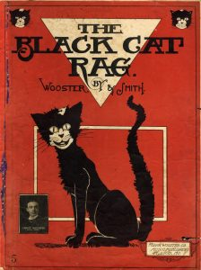 The Black Cat Rag, 1905, Courtesy the Charles Templeton Sheet Music Collection