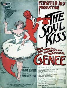 The Soul Kiss, 1908, Courtesy the Charles Templeton Sheet Music Collection