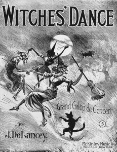Witches' Dance, 1909, Will O' The Wisp Rag, 1911, Courtesy the Charles Templeton Sheet Music Collection