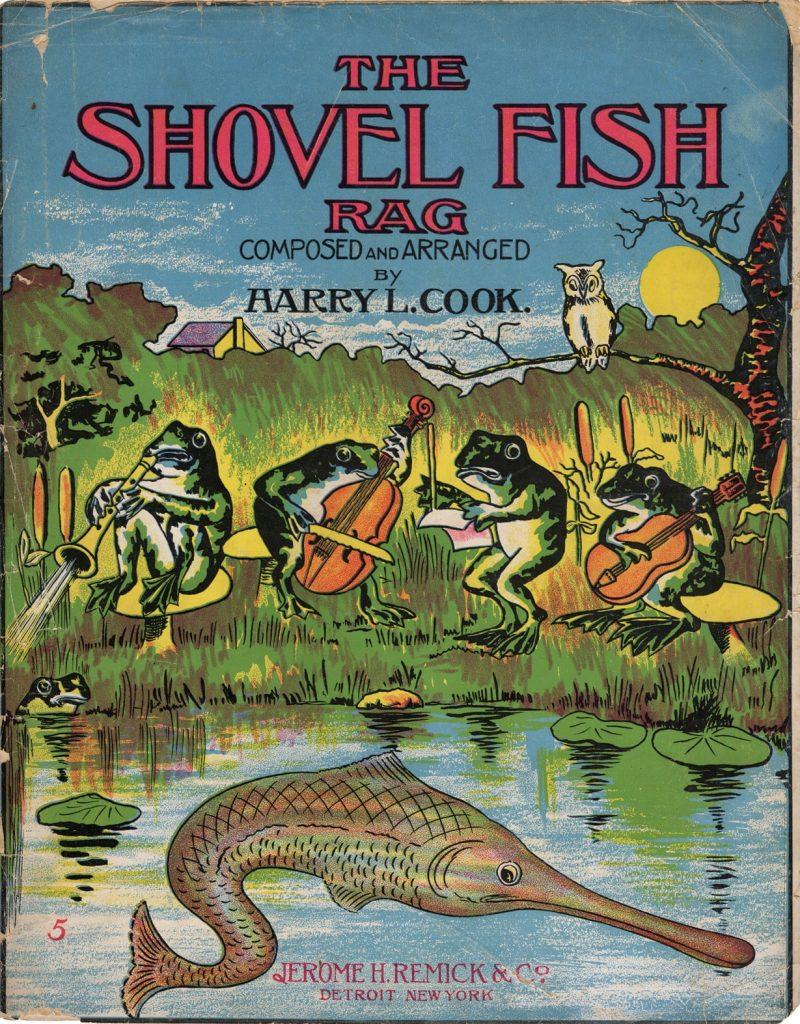 The Shovel Fish Rag